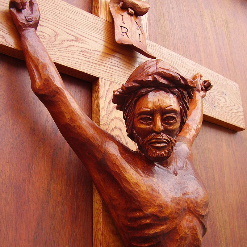 Crucifix | Ecclesiastical Religious Church Sculpture